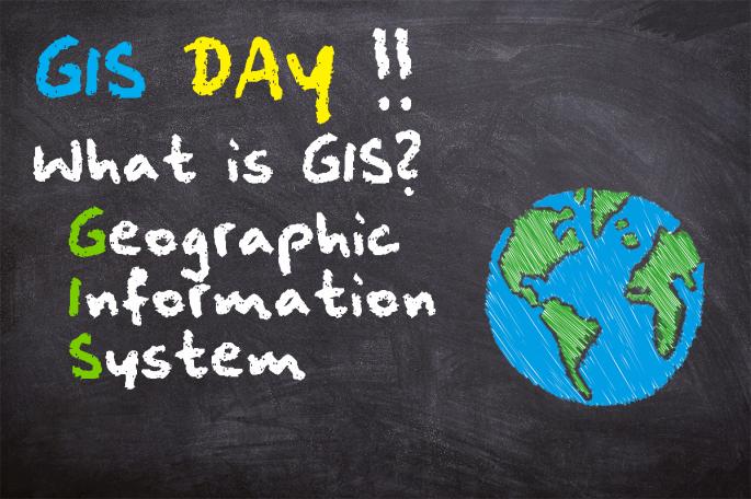 GIS Day Chalkboard